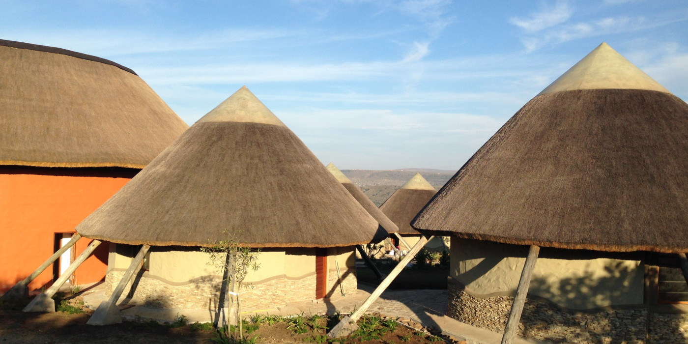 Large Thatching Contract in Mvezo, Eastern Cape