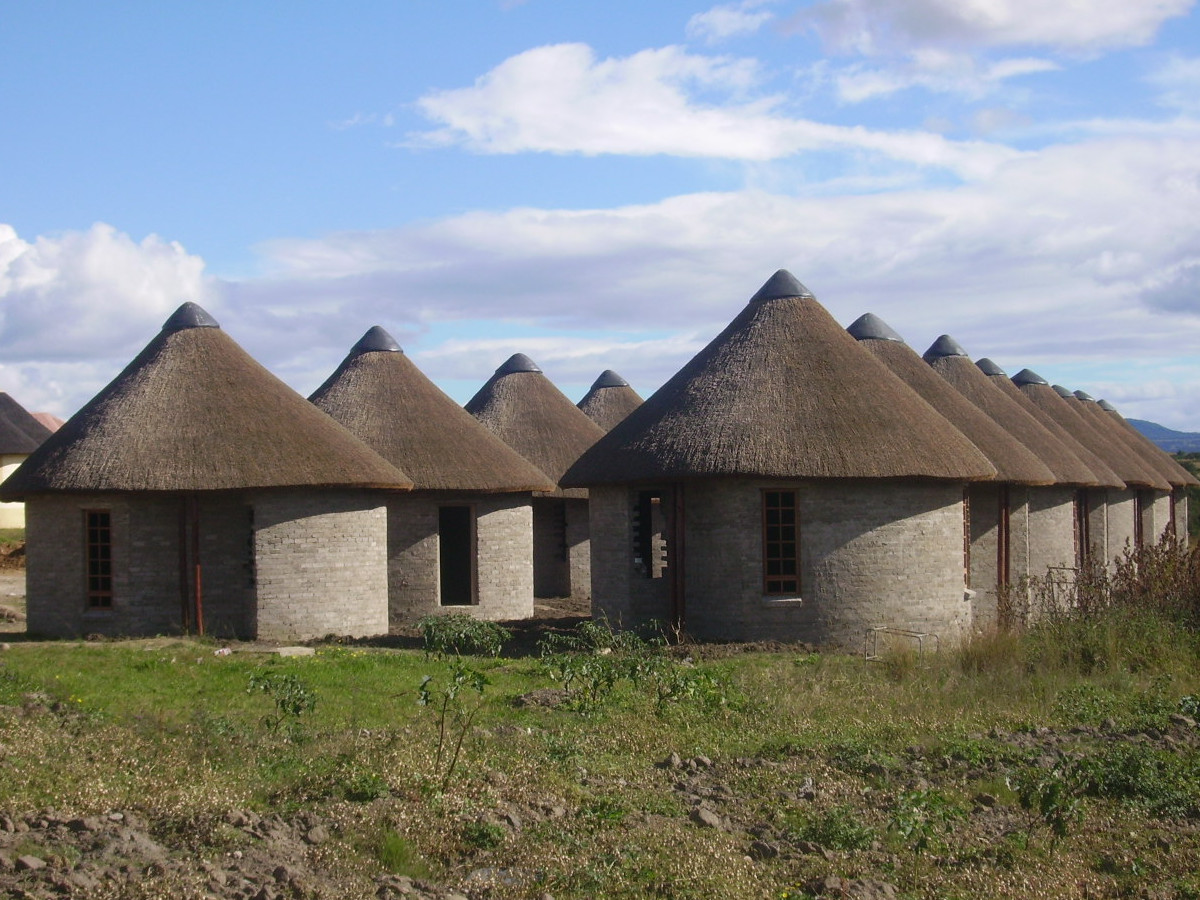 King Sandiles Thatching Project, Eastern Cape