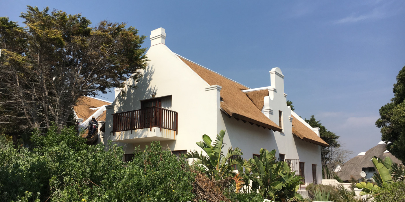 Thatched Roof in Traditional Style, Eastern Cape