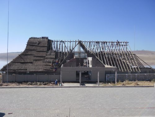 Thatching Large Roof in Mthatha, Eastern Cape