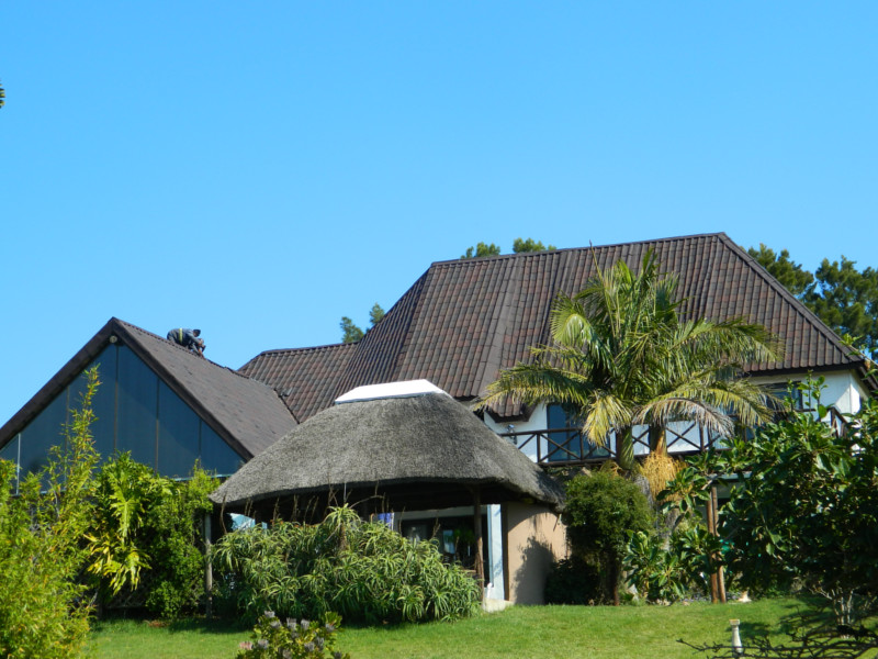 Thatch Roof Converted to Tiles, Port Elizabeth