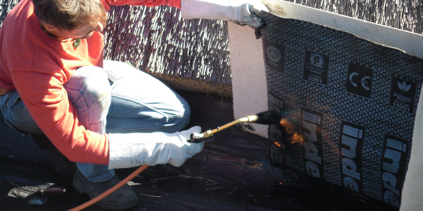 Torch-on Waterproofing - Fix Leaking Roof