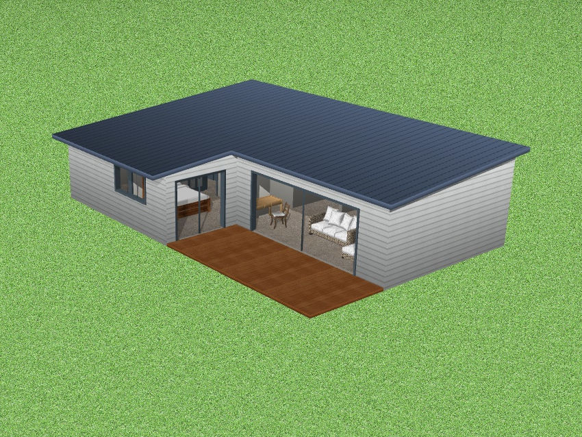 Three Bedroom Timber House Concept Design