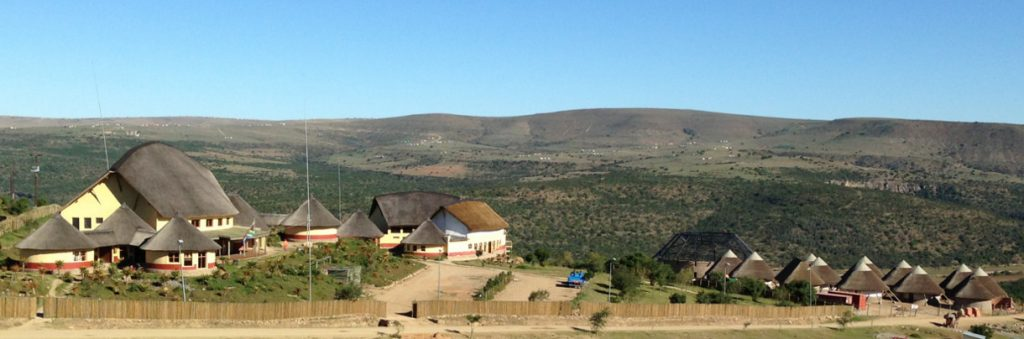 Large Thatching Project completed by Bosazza Roofing & Timber Homes, Mvezo Cultural Centre, Eastern Cape